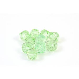BICONE SWAROVSKI (5328) 4MM CHRYSOLITE