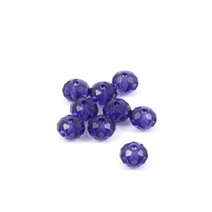 BRIOLETTE CRYSTAL SWAROVSKI (5040) 6MM PURPLE VELVET