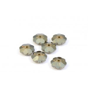 MARGUERITE CRYSTAL SWAROVSKI (3700) 8MM CRYSTAL BRONZE SHADE