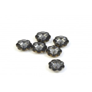 MARGUERITE CRYSTAL SWAROVSKI (3700) 8MM CRYSTAL SILVER NIGHT