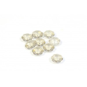 MARGUERITE CRYSTAL SWAROVSKI (3700) 6MM CRYSTAL SILVER SHADE