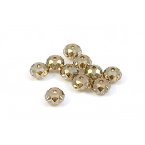 BRIOLETTE CRYSTAL SWAROVSKI (5040) 6MM CRYSTAL BRONZE SHADE
