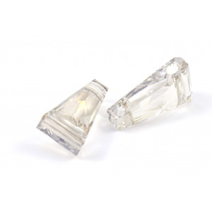 KEYSTONE CRYSTAL SWAROVSKI (5181)13X7MM CRYSTAL SILVER SHADE