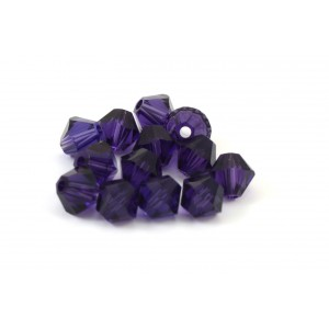 BICONE SWAROVSKI (5328) 3MM PURPLE VELVET