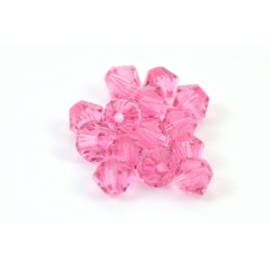 BICONE SWAROVSKI (5328) 3MM ROSE