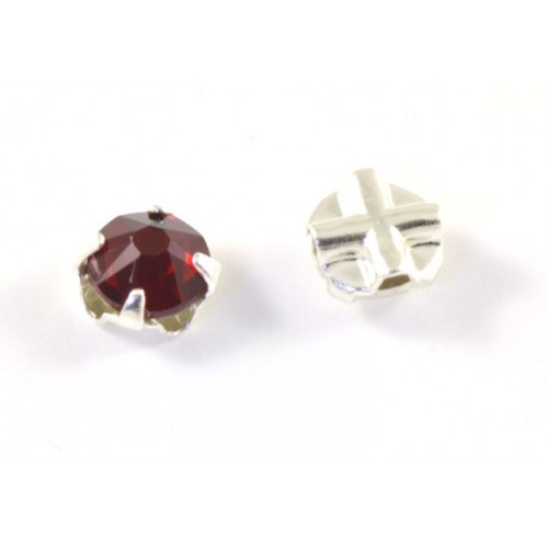 Rose montee Swarovski (53103) 6mm siam