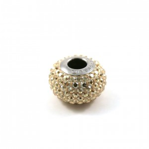 Bille Pavé Swarovski BeCharmed 14mm (80101), gold shadow