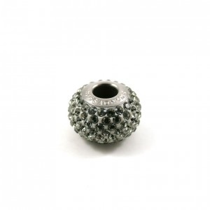 Bille Pavé Swarovski BeCharmed 14mm (80101), black diamond