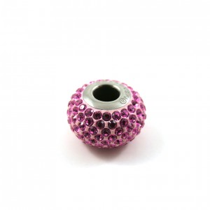 Bille Pavé Swarovski BeCharmed 14mm (80101), rose