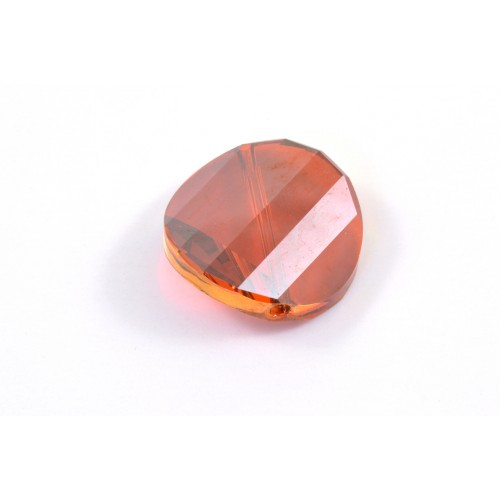 Bille twist Swarovski (5621) 22mm red magma