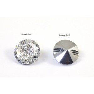 BOUTON SWAROVSKI (3015) 12MM CRYSTAL