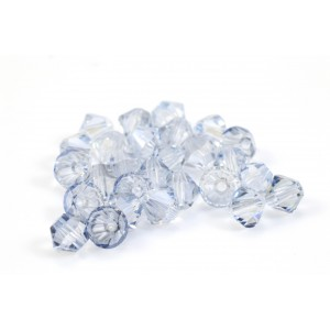 BICONE SWAROVSKI (5328) 4MM CRYSTAL BLUE SHADE