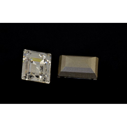 Swarovski rectangle 14x10 mm cristal (4527)