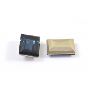 Swarovski rectangle 14x10 mm montana (4527)