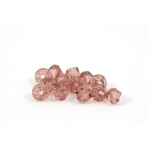 BICONE SWAROVSKI (5328) 4MM BLUSH ROSE