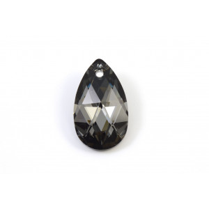 PENDENTIF SWAROVSKI PEAR (6106) 22MM CRISTAL SILVER NIGHT