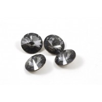 RIVOLI SWAROVSKI (1122) 12MM SILVER NIGHT