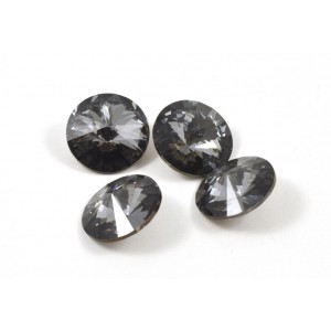 RIVOLI SWAROVSKI (1122) 14MM SILVER NIGHT