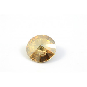 RIVOLI SWAROVSKI (1122) 14MM GOLD SHADOW