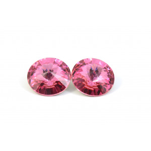 RIVOLI SWAROVSKI (1122) 14MM ROSE