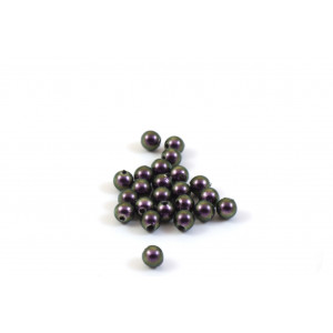 SWAROVSKI PERLES (5810) RONDE 4MM IRIDESCENT PURPLE