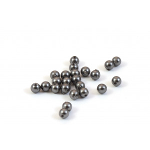 SWAROVSKI PERLES (5810) RONDE 4MM DARK GREY
