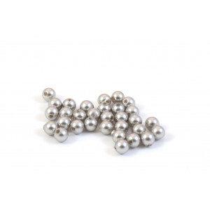SWAROVSKI PERLES (5810) RONDE 4MM LIGHT GREY