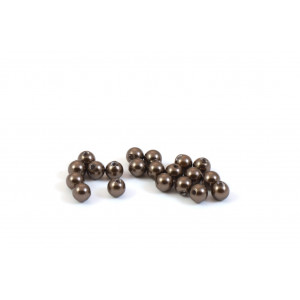 SWAROVSKI PERLES (5810) RONDE 4MM BROWN