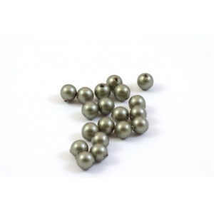 SWAROVSKI PERLES (5810) RONDE 6MM POWDER GREEN