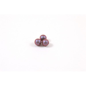 SWAROVSKI PERLES RONDE (5810) 3MM IRIDESCENT RED