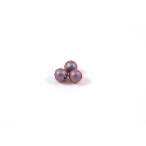 SWAROVSKI PERLES (5810) RONDE 4MM IRIDESCENT RED