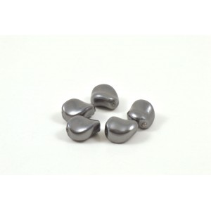 SWAROVSKI PERLE ONDULÉE  (5826)  9X8MM DARK GREY