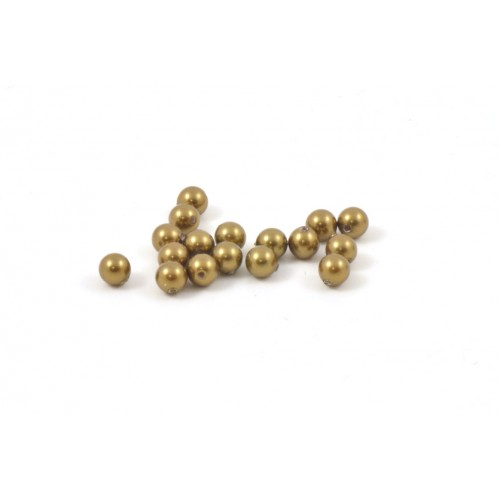 SWAROVSKI PERLES RONDE (5810) 3MM ANTIQUE BRASS