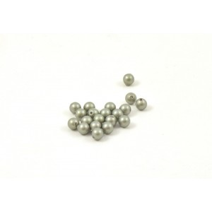 SWAROVSKI PERLES (5810) RONDE 4MM POWDER GREEN