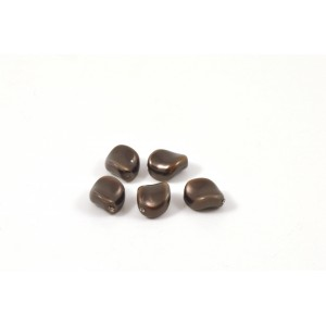SWAROVSKI PERLE ONDULÉE  (5826)  9X8MM DEEP BROWN