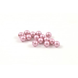 SWAROVSKI PERLES (5810) RONDE 4MM POWDER ROSE