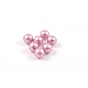 SWAROVSKI PERLES (5810) RONDE 6MM POWDER ROSE