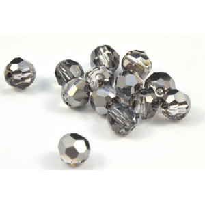 RONDE SWAROVSKI (5000) 6MM CRYSTAL SILVER NIGHT