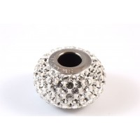 Bille Pavé Swarovski BeCharmed 14mm (80101), cristal clair