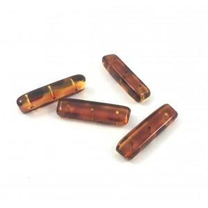Barre séparateur acryliques brunes