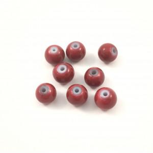 Billes acryliques ''wonder bead'' 8mm rouge