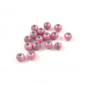 Billes acryliques ''wonder bead'' 6mm rose