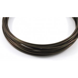 Aluminum wire 12 gauge brown