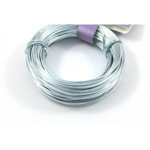 Aluminum wire 18 gauge light blue