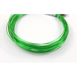 Aluminum wire 18 gauge green