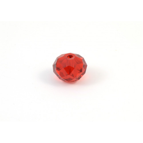 Bille de verre siam 12x7mm