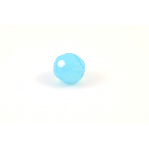 Facette turquoise opal 12mm