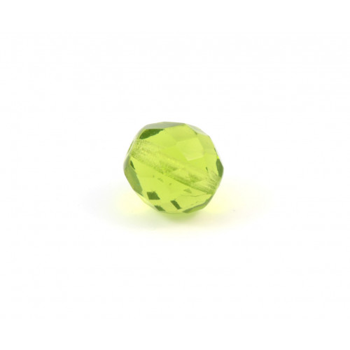 Facette olivine 12mm