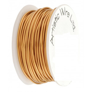 Fils 20 gauge Artistic wire Naturel