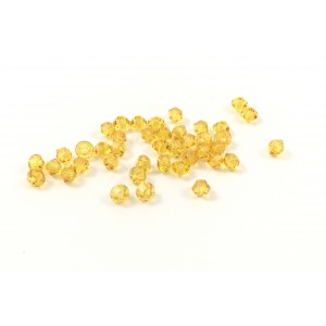 BICONE SWAROVSKI (5328) 3MM SUNFLOWER